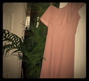 NWT Pink/Mauve 1 Ruffled/1 Spaghetti Strap Dress